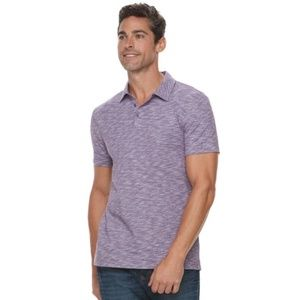 Marc Anthony Crown jewel polo slim fit purple s m